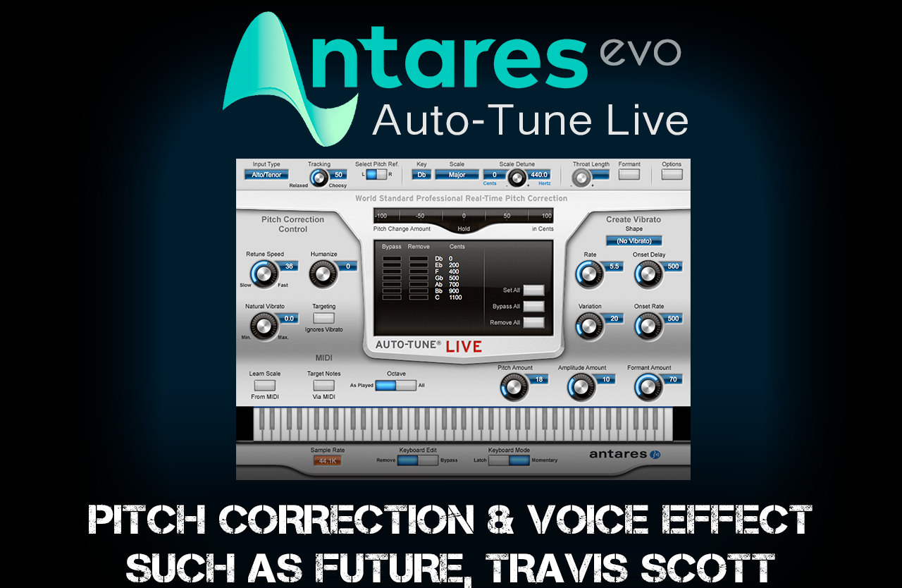 All tutorials : ANTARES Autotune live tutorial