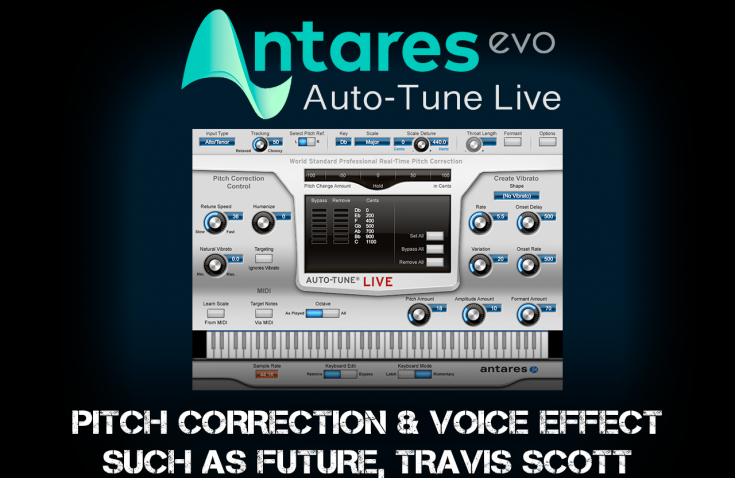 All tutorials : ANTARES Autotune live tutorial
